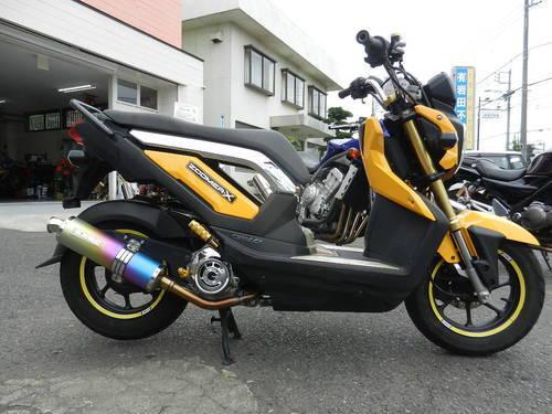 ズーマーX/ホンダ 110cc 茨城県 ファーシャジャパン